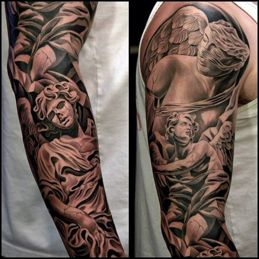 Short Sleeve Tattoos For Men Half Sleeve Tattoo Site