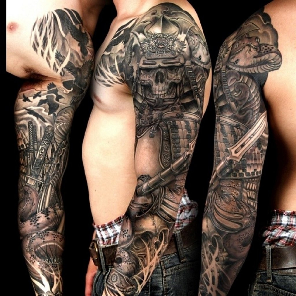 10 Famous Tattoo Sleeve Ideas For Black Men throughout dimensions 1024 X 1024