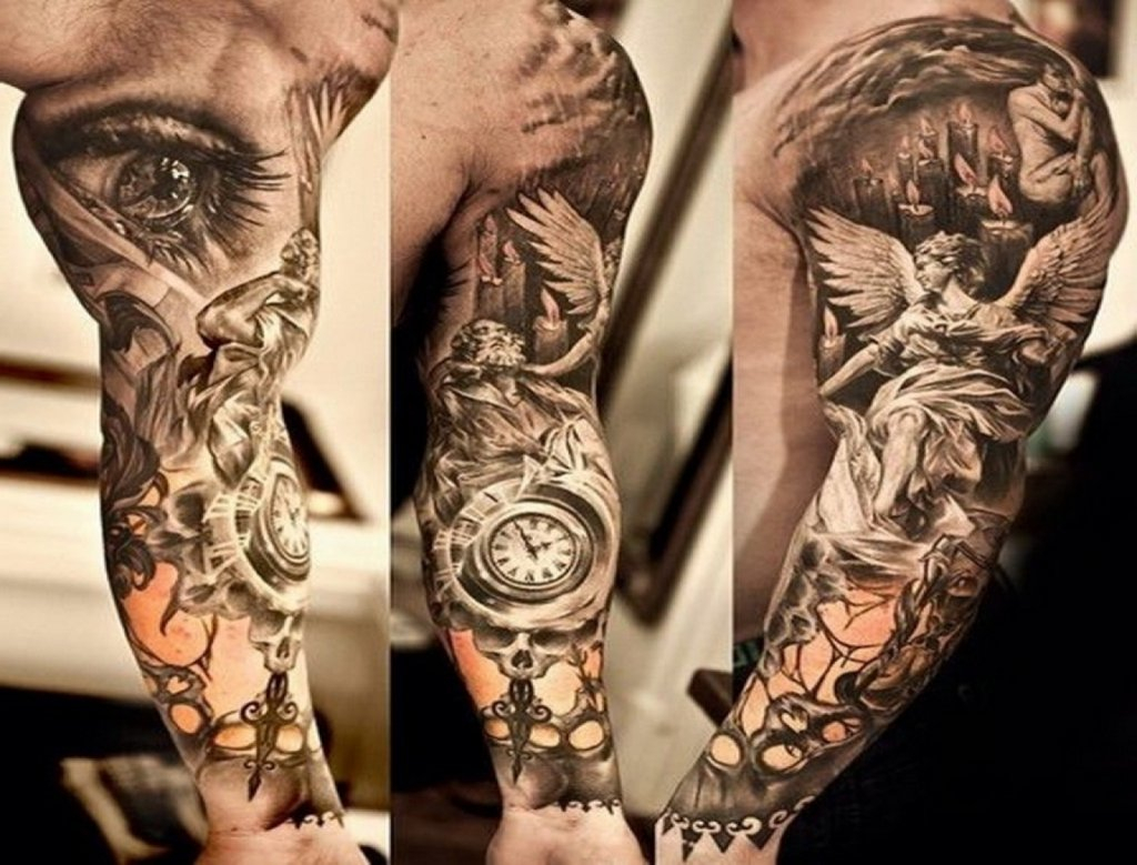 10 Unique Sleeve Tattoos Ideas For Guys with regard to dimensions 1024 X 779
