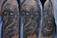 16 Half Sleeve Evil Tattoos pertaining to size 1000 X 843