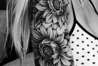 20 Of The Most Boujee Sunflower Tattoo Ideas Sunflower Tattoo within size 1206 X 1500