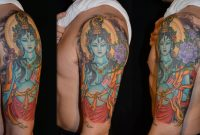 20 Spiritual Tattoos On Half Sleeve intended for measurements 1600 X 883
