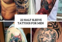 22 Half Sleeve Tattoo Ideas For Men Styleoholic 775x1096 Png L with size 775 X 1096
