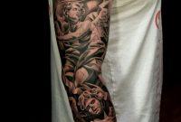 26 Angel Sleeve Tattoos Ideas with regard to sizing 1024 X 1536