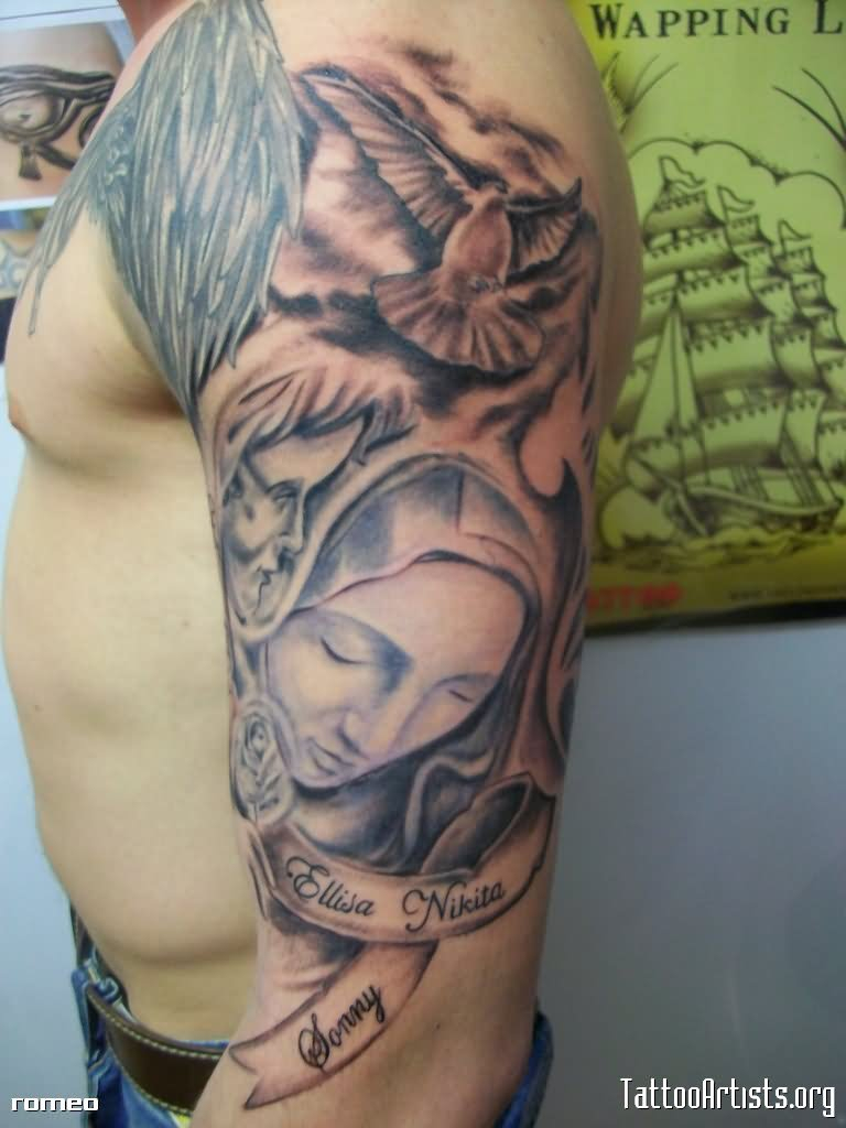 30 Christian Tattoos On Sleeve inside proportions 768 X 1024