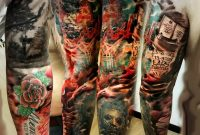 30 Great Full Sleeve Tattoos Maksims Zotovs with dimensions 960 X 960