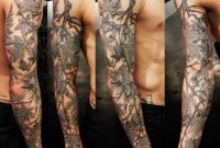 36 Black And Grey Full Sleeve Tattoos throughout measurements 1021 X 1024