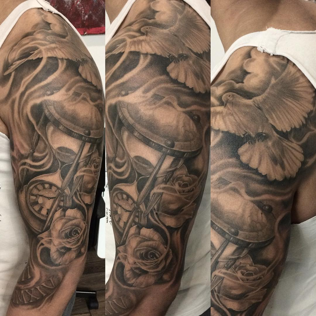 40 Dove Tattoos On Sleeve pertaining to dimensions 1080 X 1080