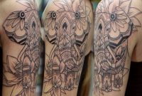 40 Elephant Tattoos On Sleeve intended for size 1080 X 885