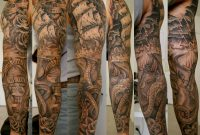 40 Pirate Tattoos On Sleeve pertaining to sizing 3000 X 2228