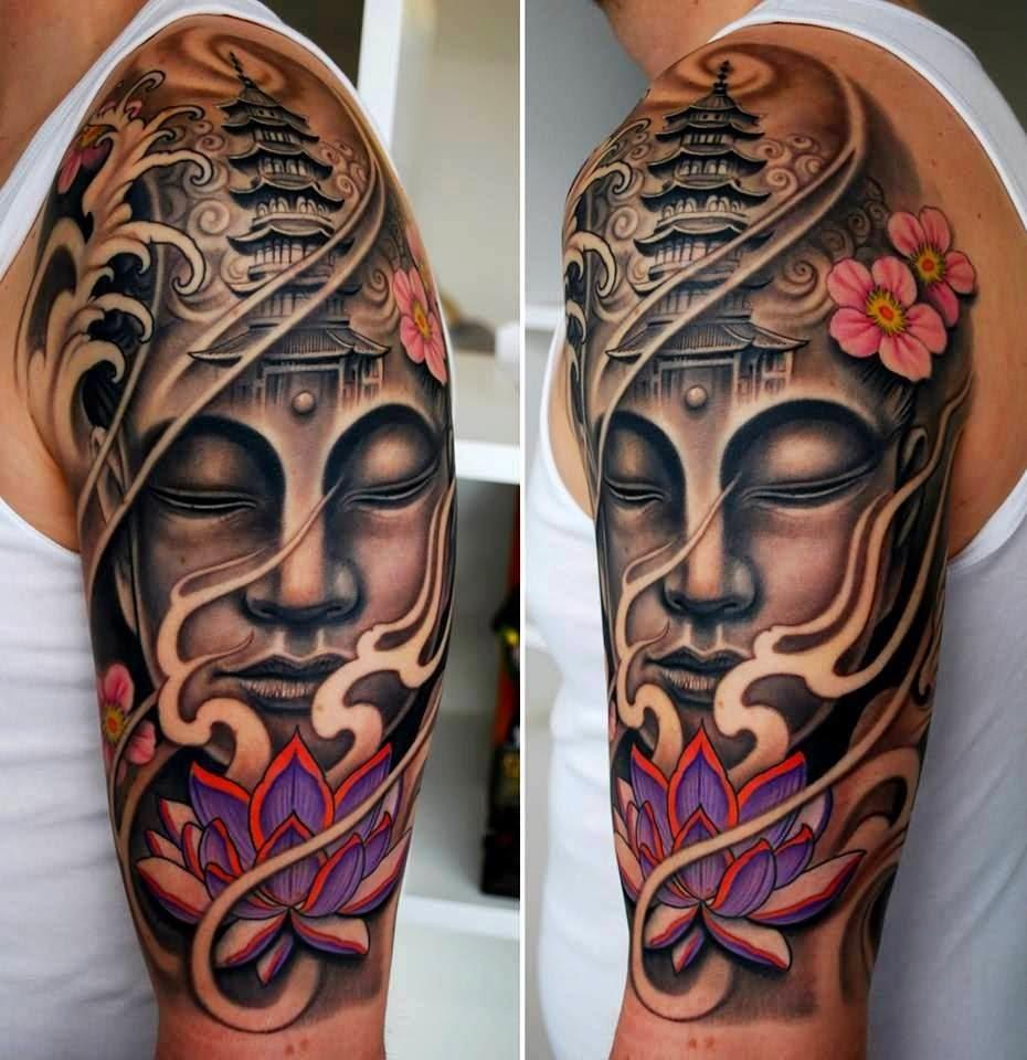 46 Cool Half Sleeve Tattoos pertaining to sizing 930 X 960