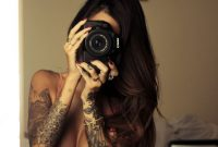 50 Awesome Examples Of Sleeve Tattoos For Women Bodypainting within measurements 736 X 1104