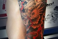 50 Cool Japanese Sleeve Tattoos For Awesomeness Tattoos Best pertaining to proportions 600 X 1369