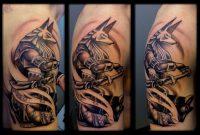 9 Anubis Tattoo On Half Sleeve with size 1095 X 730