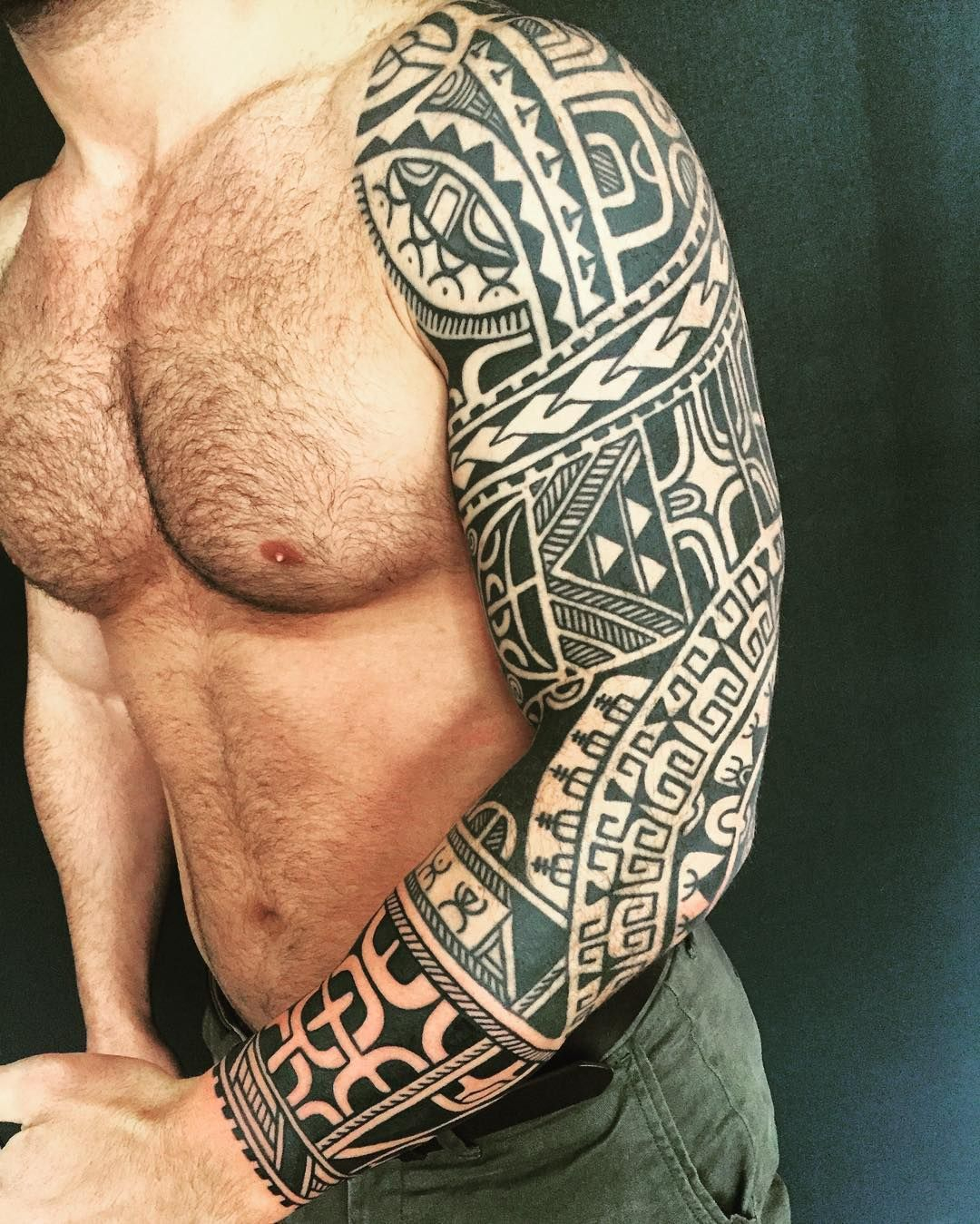 Added To Altins Three Quarter Sleeve Today Polynesiantattoo within dimensions 1080 X 1349
