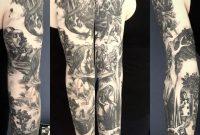 Alice In Wonderland Full Sleeve Scott Dennis At Lure Tattoo In regarding size 1440 X 1434