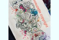 Alice In Wonderland Sleeve Tattoo Design Tattoosuzette On Deviantart with regard to dimensions 894 X 894