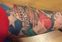 Amazing Texas Revolution Tattoo On Arm Sleeve pertaining to measurements 1600 X 832