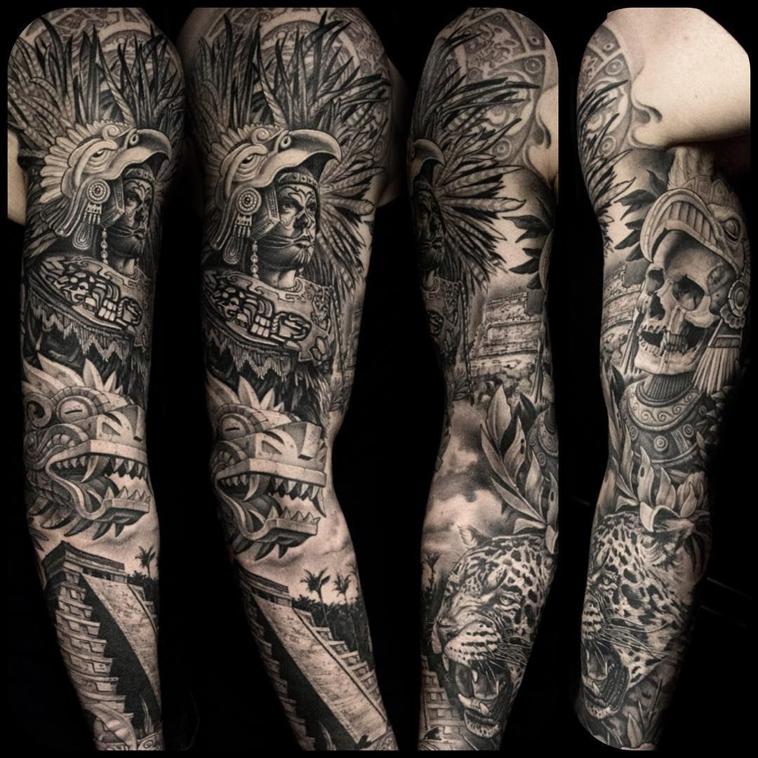 And A Picutre Of The Whole Sleeve I Love The Mexican Culture with proportions 1080 X 1080