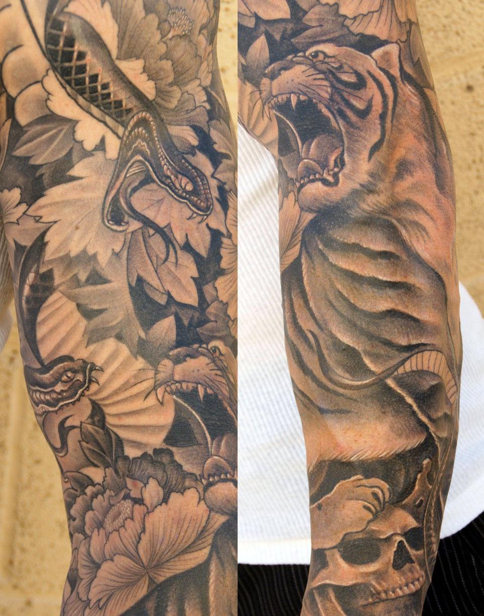 Arm Tattoos For Men Half Sleeves   Perry Platyphus