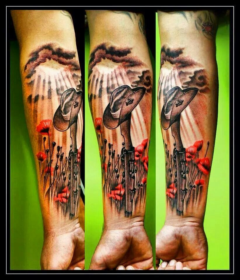 Aussie Tattoo Idea Lest We Forget Australian Army Design Can with regard to dimensions 822 X 960