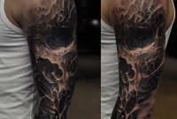 Dark Skull Sleeve Httptattooideas247evil Skull Sleeve within sizing 900 X 900