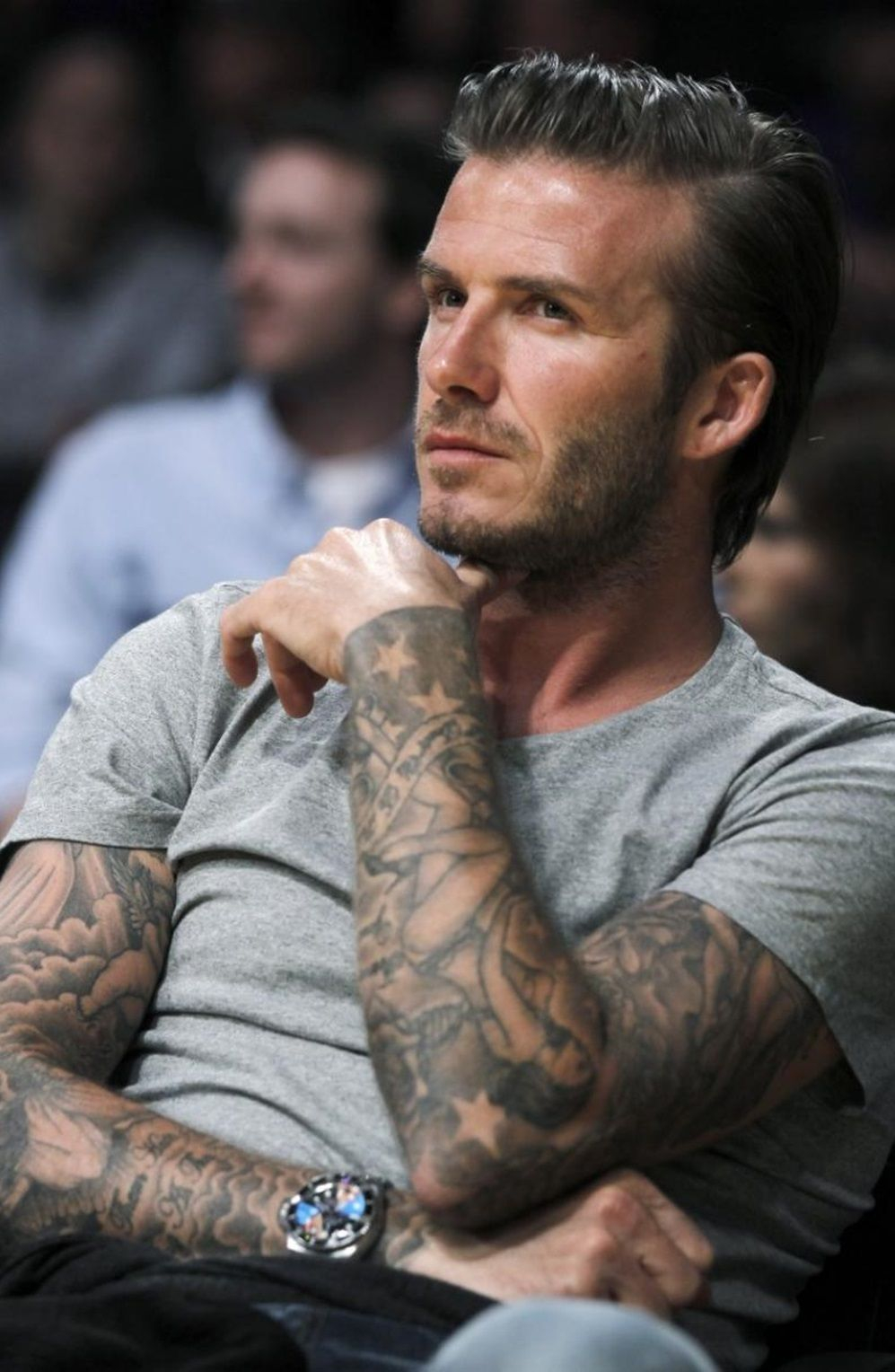 David Beckhami Lovvee His Tattoo Sleeves D Muycaliente inside proportions 997 X 1528