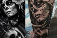 Day Of The Dead Sleeve Tattoo Mattparkintattoos Soular Tattoo regarding sizing 1564 X 1564