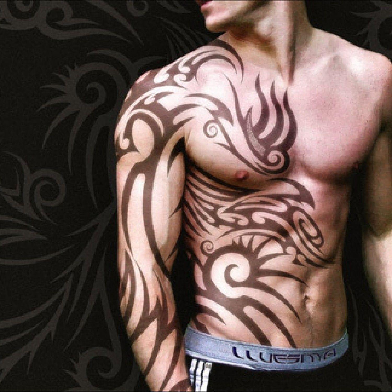 Tribal Tattoos For Men Arms Sleeve Half Sleeve Tattoo Site