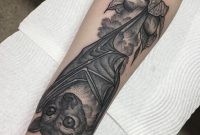 Eddy Lou Tattoos Little Fruit Bat For Madisyn Flttattoostudio with size 1080 X 1080