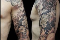 Flower Tattoo Sleeve For Men Flower Tattoos For Men Get Rotem with size 1925 X 2200