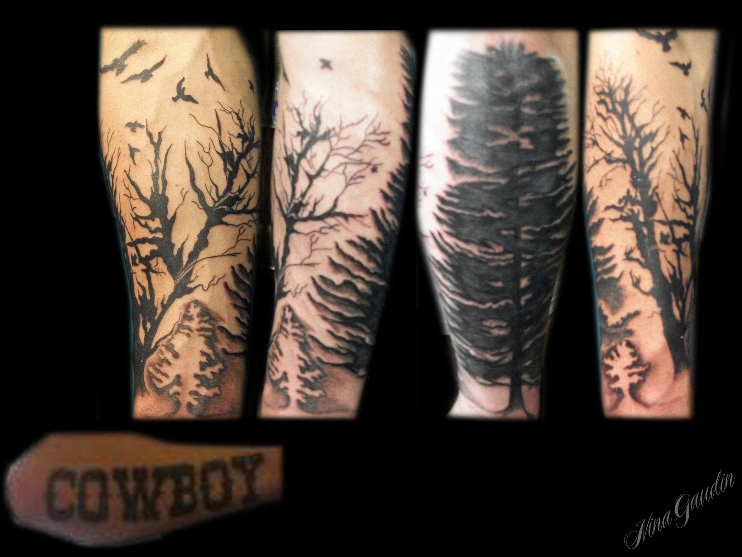 Sleeve Cover Up Tattoo Forearm • Half Sleeve Tattoo Site