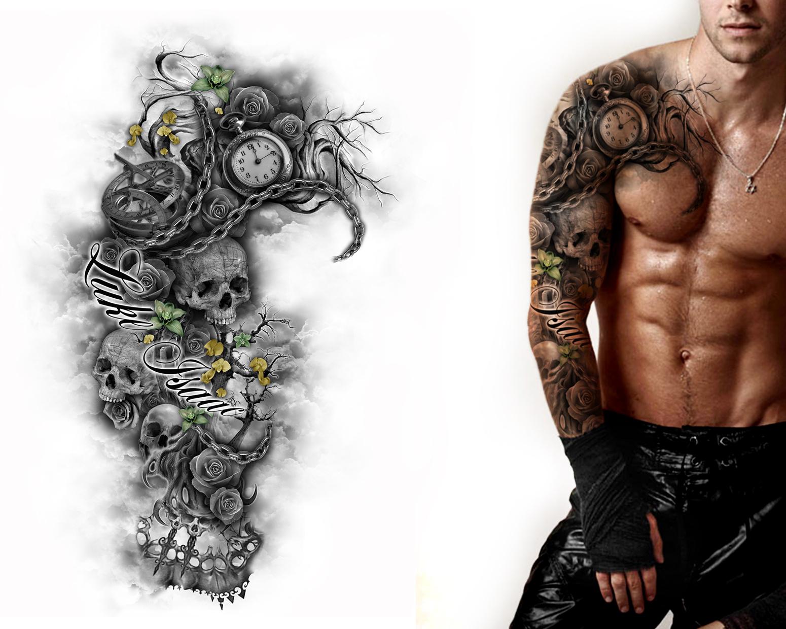 Tattoo Full Sleeve Designs • Half Sleeve Tattoo Site