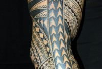 Full Sleeve Polynesian Tattoo Designs 10671600 Tattoo throughout sizing 1067 X 1600