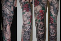 Gothic Tattoo On Sleeve regarding size 3463 X 3508