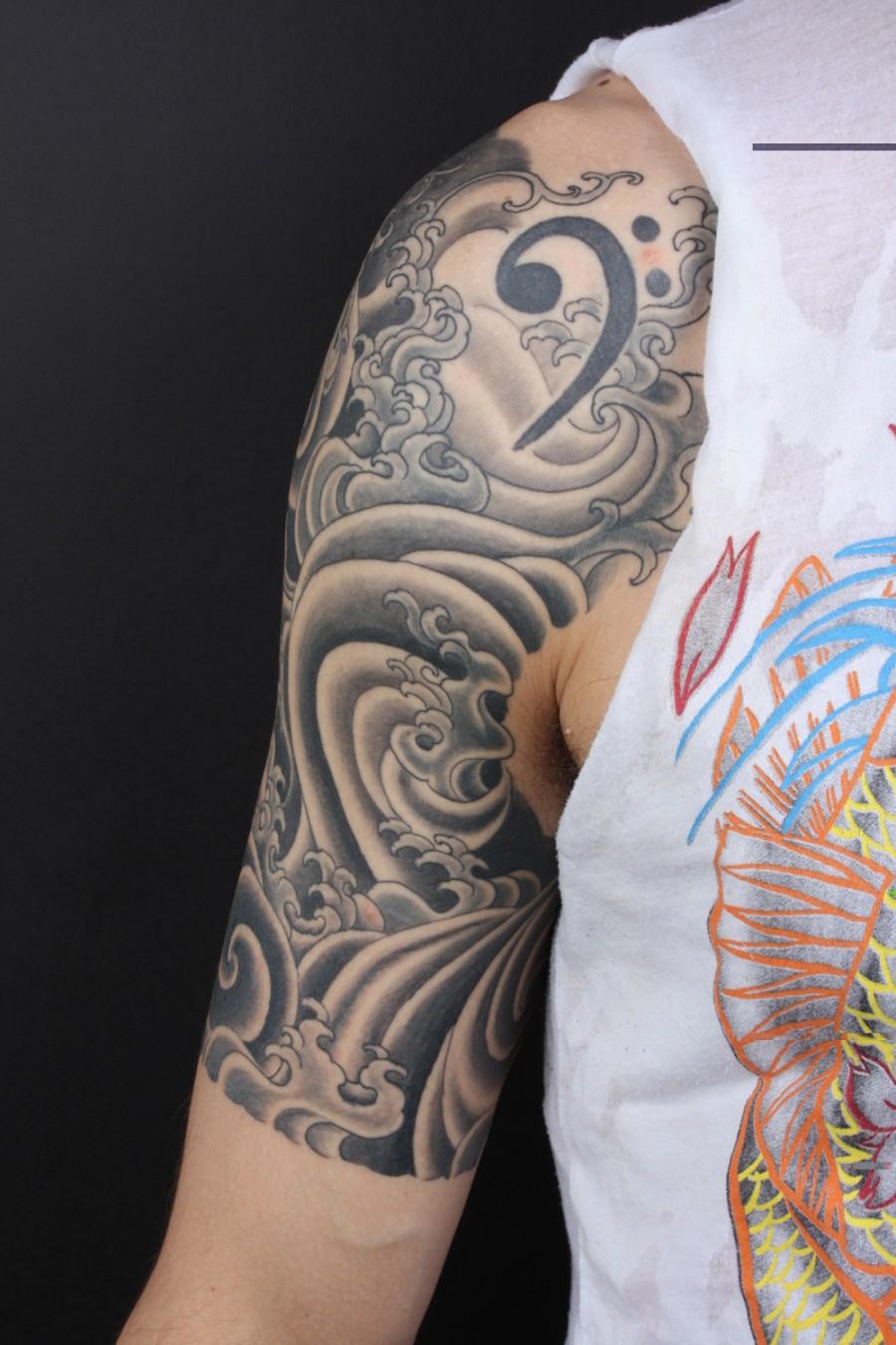 Quarter Sleeve Tattoo Ideas For Women Half Sleeve Tattoo Site