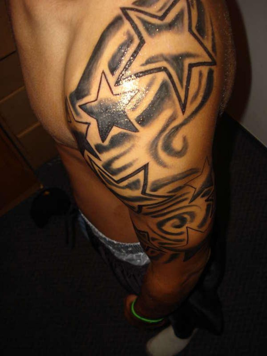 ab4c5cb47 Half Sleeve Star Tattoos For Guys Star Sleeve Tattoos Designs And  pertaining to dimensions 1024 X