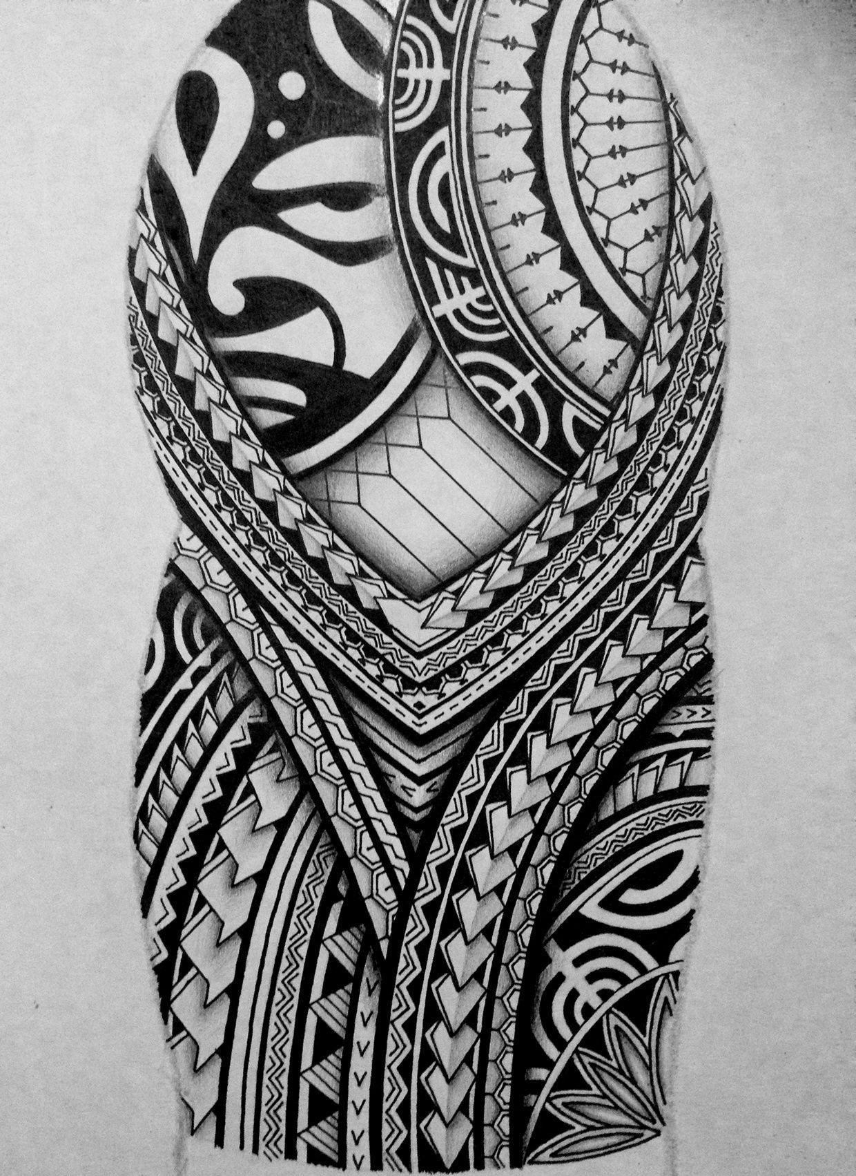 Tribal Arm Sleeve Tattoo Designs Archidev