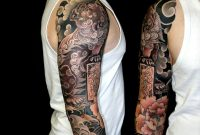 Japanese Lion Shisa 34 Tattoo Sleeve Artist Unknown Re Pinner with size 1186 X 1096
