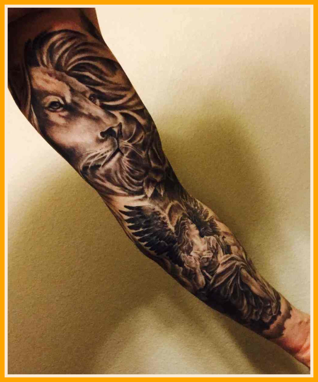 20f71c6d544c5 Marvelous Clock Best Forearm Sleeve Tattoos Movement Black And Gray within  proportions 1048 X 1258