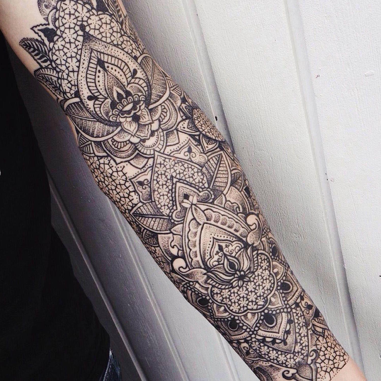 Mens Mandala Tattoo Sleeve Half Sleeve Tattoo Site