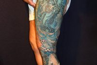 Monochromatic Leg Sleeve Danktat On Deviantart intended for size 774 X 1032