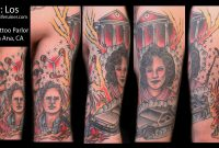 My Completed Back To The Future Traditional 12 Sleeve Tattoo Done regarding proportions 1920 X 1080