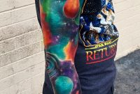 My Space Sleeve Kaitlin Dutoit Inksnob Tattoo Glendale Az throughout dimensions 1074 X 1625