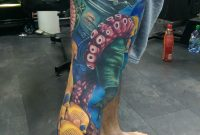 Ocean Themed Leg Sleeve Alex Rattray Of Red Hot And Blue Tattoo regarding measurements 1519 X 2687