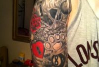 Old School Half Sleeve Tattoo with size 768 X 1024