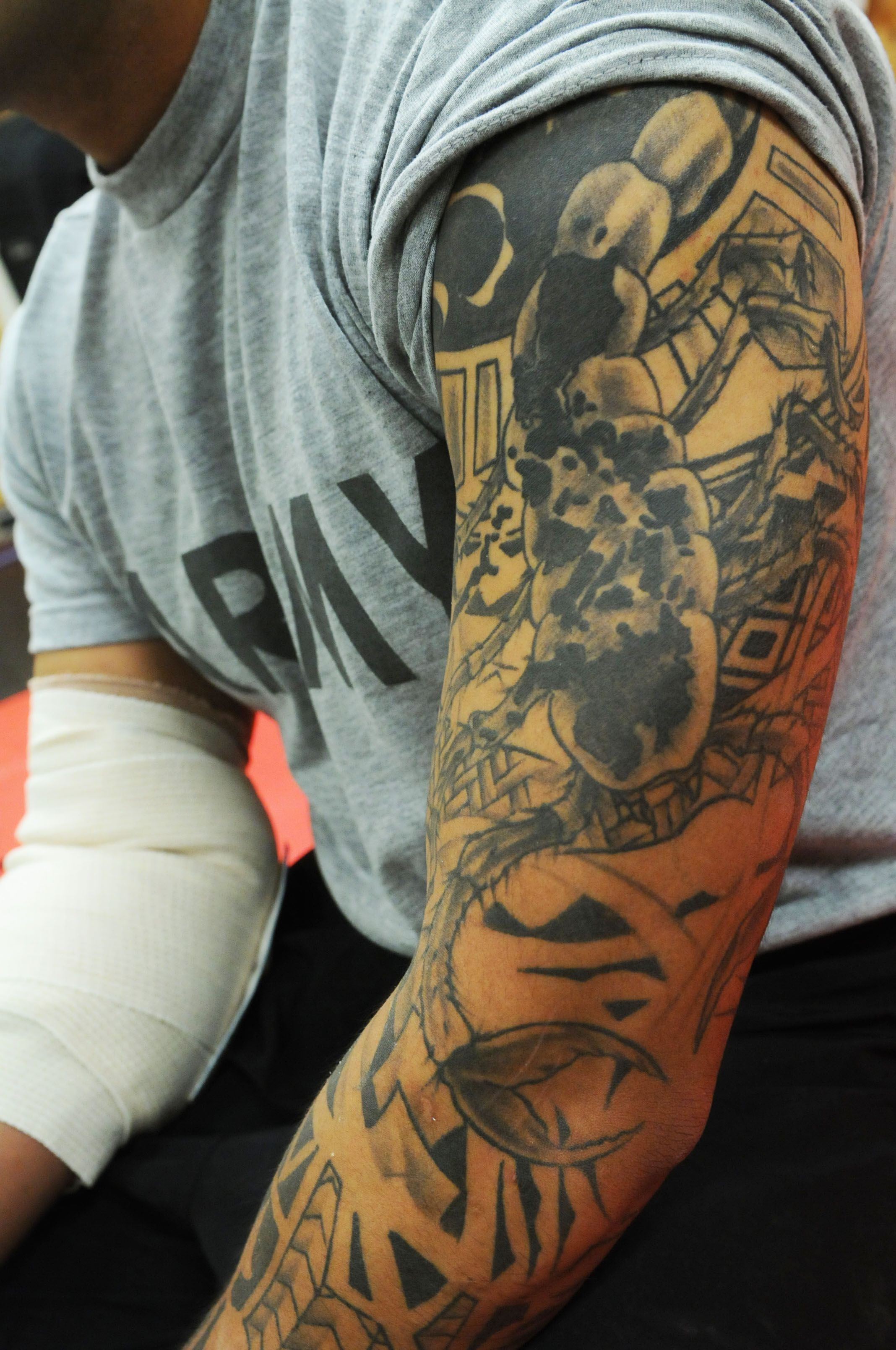 b93894219d718 Pics Photos Military Tattoos And Tattoo Designs Pictures Gallery inside  proportions 2136 X 3216