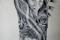 Religious Half Sleeve Tattoo Drawings Tattoo Ink Design Tats with dimensions 1024 X 1501