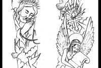 Religious Sleeve Tattoo Design Thirteen7sdeviantart On intended for size 850 X 1169
