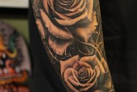 Roses Vetoe Black Label Art Co Los Angeles Usa Tattoo I intended for size 1278 X 1920